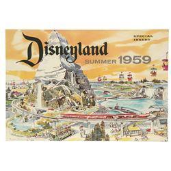 Disneyland Summer 1959 Special Insert