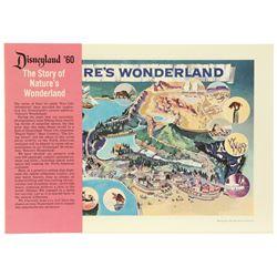 Disneyland 1960 The Story of Nature's Wonderland Pamphlet