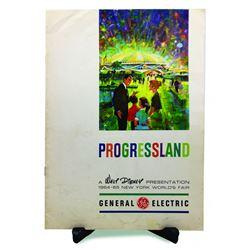 General Electric Progressland Press Booklet