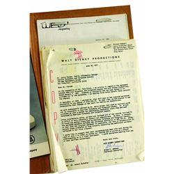 WED Enterprises AT&T CIRCLE-VISION SPONSOR Correspondence Documents Folder
