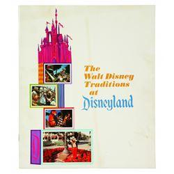 The Walt Disney Traditions at Disneyland  Cast member Handbook.