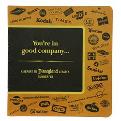You're in good company Sponsor book