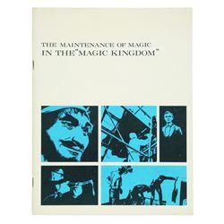 Maintenance Department Cast Member Guidebook.