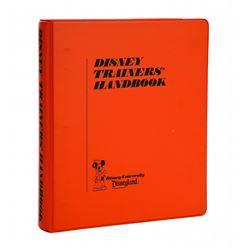 Disneyland Trainer's Handbook