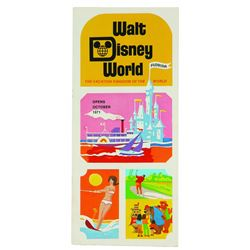 Walt Disney World Pre-Opening Brochure.