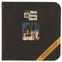 The Story of Walt Disney World Booklet 1971 with Original Mailing Envelope, 48 pages, very good cond