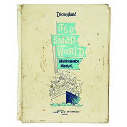 Disneyland Small World Maintenance Manual