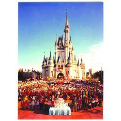 Walt Disney World 2nd Anniversary Cast Photo.