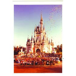 Walt Disney World 5th Anniversary Cast Photo.