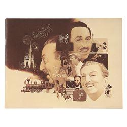 Walt Disney Quotations Cast member Booklet .