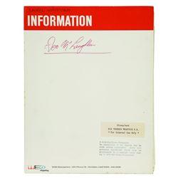 Big Thunder Mountain WED information Folder
