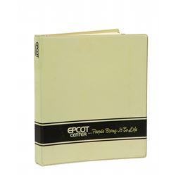 EPCOT Center Pre-opening Management Binder