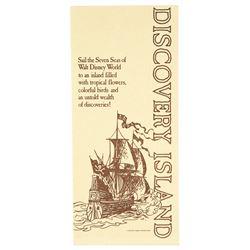 Walt Disney World Discovery Island  Map.