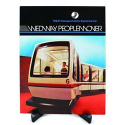 WEDWAY PeopleMover Promotional Sales Booklet