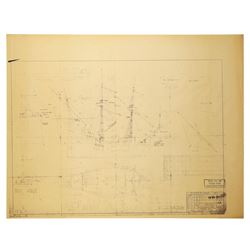 Disneyland Fantasyland Pirate Ship Blueprint