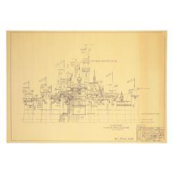 Disneyland Fantasyland Castle Blueprint,