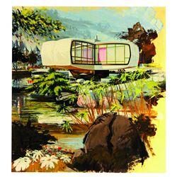 Original Monsanto House of the Future Art