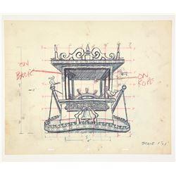 (5) Original Fun Photos, Mark Twain Steamboat Display Design Drawings .