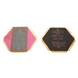 Original Concept Art for New Orleans Square Perfume Box