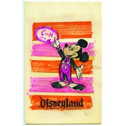 Original Concept Art for Disneyland C & H Sugar .
