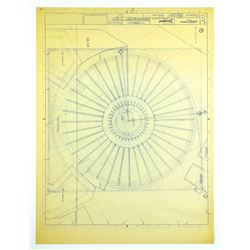 Space Mountain Overhead View  Blueprint.
