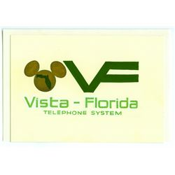 Original Concept Art for Vista Florida Phone System.