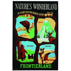 Disneyland Natures Wonderland Attraction Poster