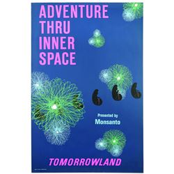 Original Disneyland Adventure Thru Inner Space Attraction Poster.