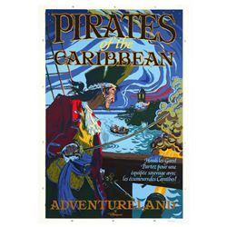 Euro Disney Pirates of the Caribbean Attraction Poster