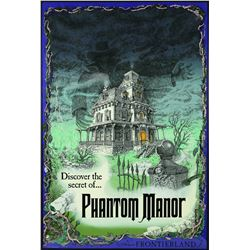 Euro Disney Phantom Manor Attraction Poster