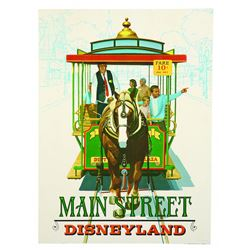 "Disneyland Main Street ""Near-Attraction"" Poster"