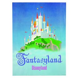 Disneyland Fantasyland Near-Attraction Poster