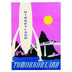 Disneyland Tomorrowland Near-Attraction Poster