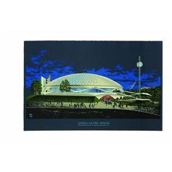 Welton Beckett Progressland Pavilion Presentation Poster