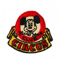 Mickey Mouse Club Circus Cast Member Patch