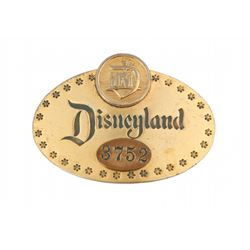 First Year Disneyland Cast Member ID Badge