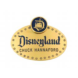 First Year Disneyland Supervisor ID Badge