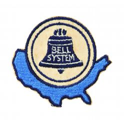 Disneyland America The Beautiful Bell System patch