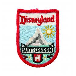 Matterhorn Bobsleds Cast Member Uniform Patch