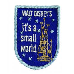 Rare New York World's Fair It's a Small World Uniform Patch