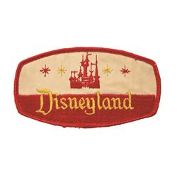 Disneyland Castle Logo Patch