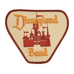 Disneyland Band member Patch
