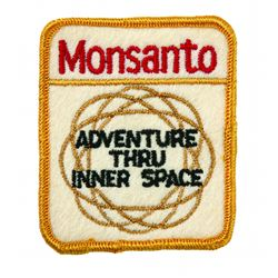 Monsanto Adventures Thru Innerspace Uniform patch