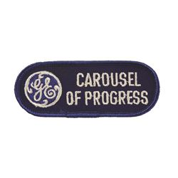 GE Carousel of Progress Patch