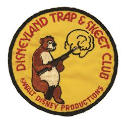 Disneyland trap and Skeet Club patch