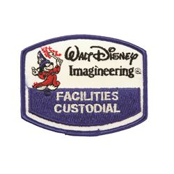Walt Disney Imagineering  custodial patch