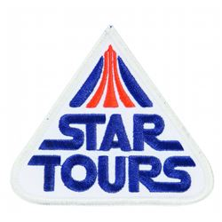 Disneyland Star Tours Patch