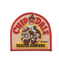 Chip and Dale recue rangers patch