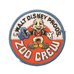 Disneyland Zoo Crew Patch