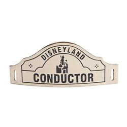 Disneyland Railroad Conductor Hat Badge